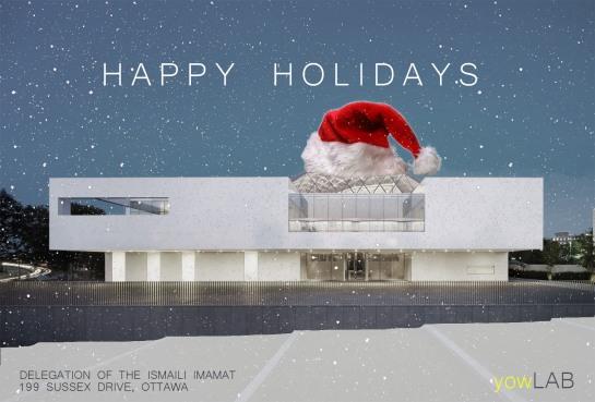 yowLAB - Holiday Card